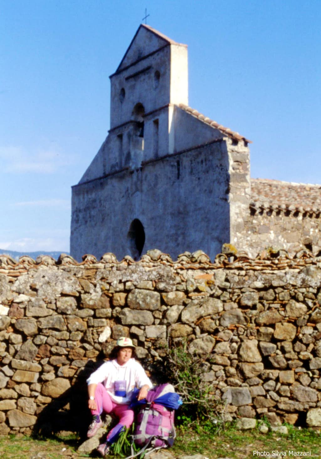 The secluded old church of S. Pietro in Golgo
