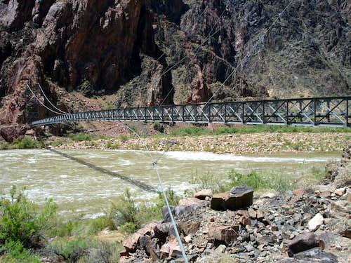 Silver Bridge over Colorado River