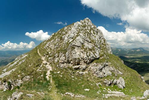 Serra di Celano main summit