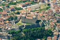 The castle of Celano