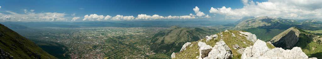 West summit panorama