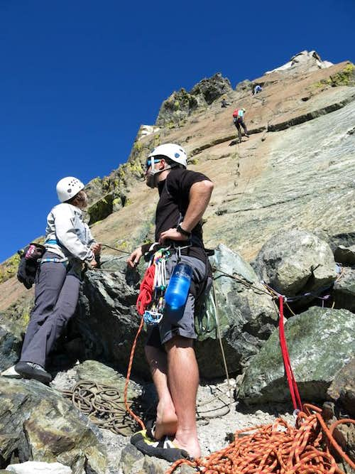 Alpine Cragging on Ingalls Peak