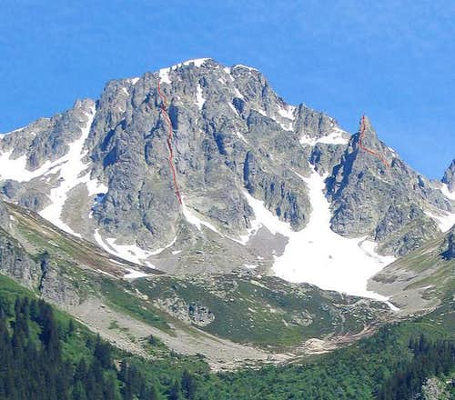 South ridge of the Gliere (on...