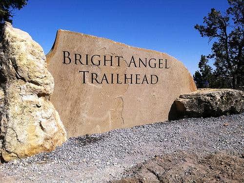 Bright Angel Trail Head