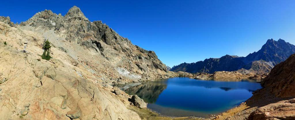 Ingalls Peak and Lake Ingalls