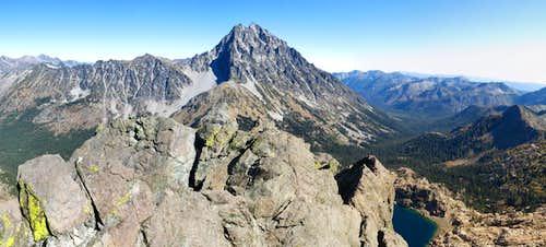 View of Mt Stuart from Ingalls Peak