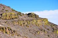 Cliffs on Tule Peak