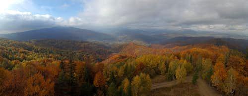 Panorama from Koziarz