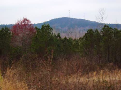 Woodall Mountain from the...