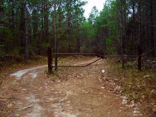Trailhead for the North Ridge...