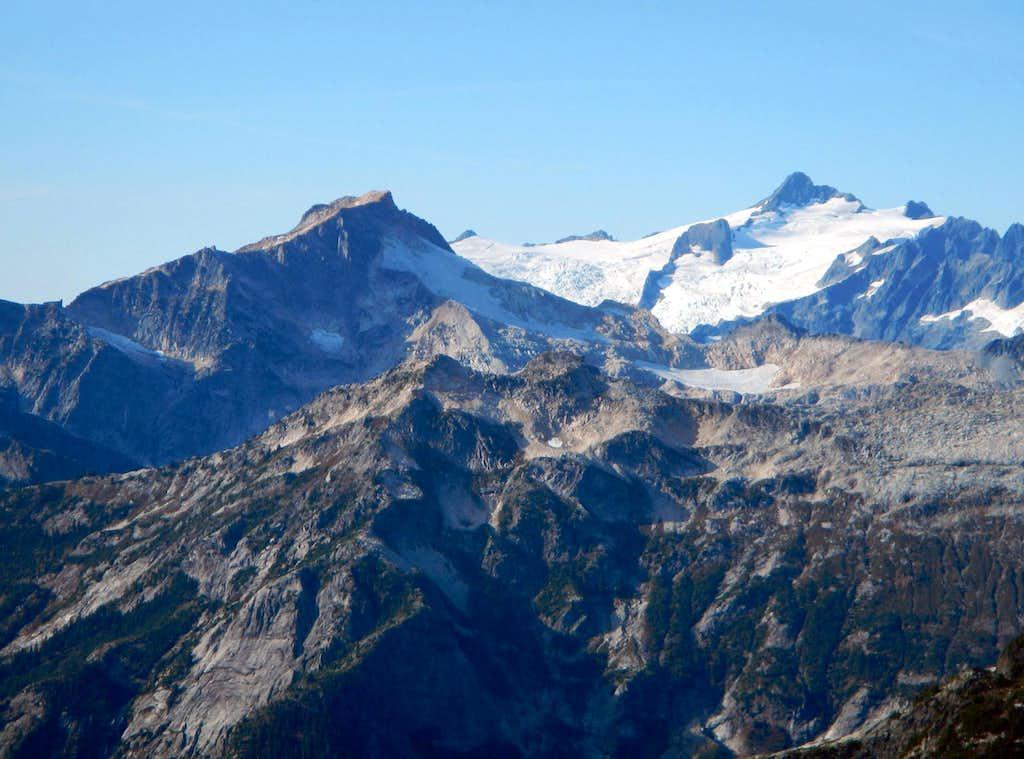 Mount Blum and Mount Shuksan