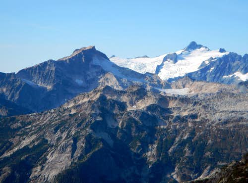 Mount Blum and Mount Shuksan
