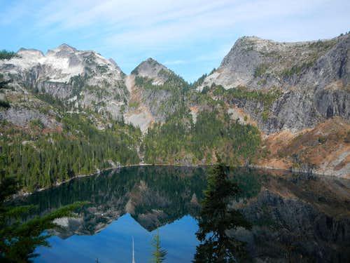 Thornton Peak and X Mountain