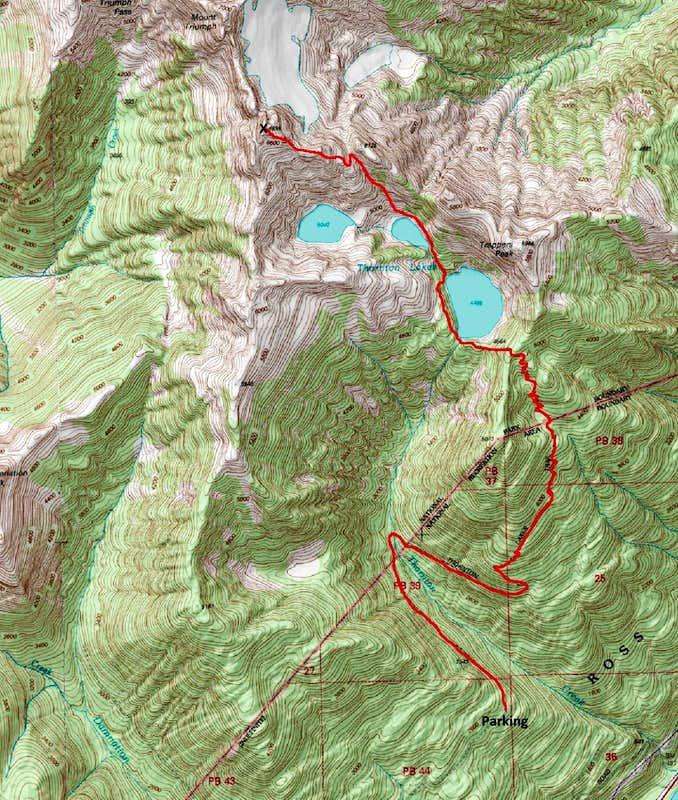 Thornton Map Photos Diagrams Topos SummitPost