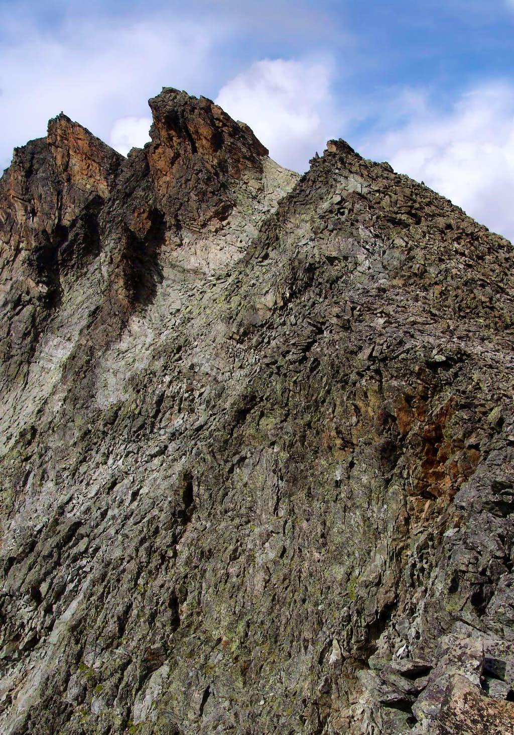 Trouma des Boucs South-southwest Ridge
