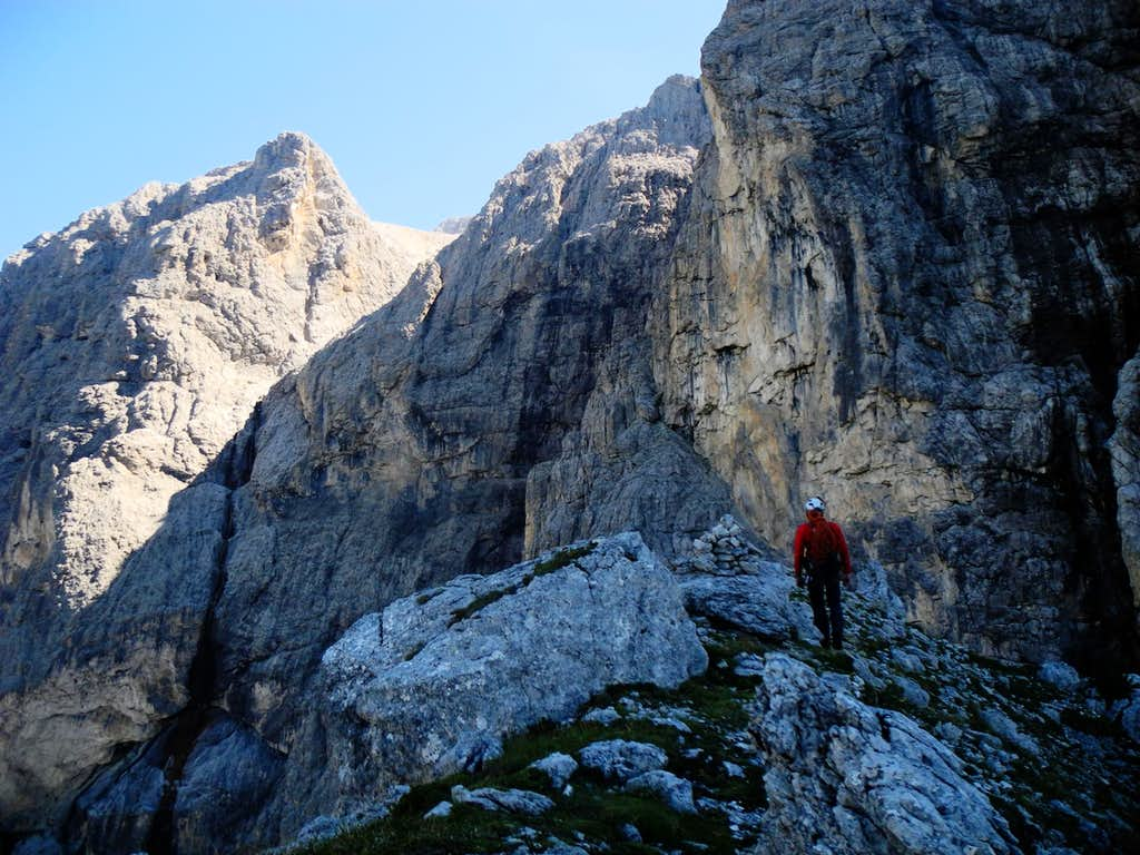 Summit of Torre Orientale Meisules dala Biesces