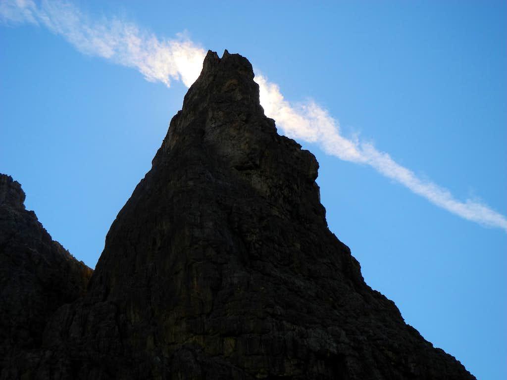 A magic cloud (Torre Orientale Meisules de la Biesces)
