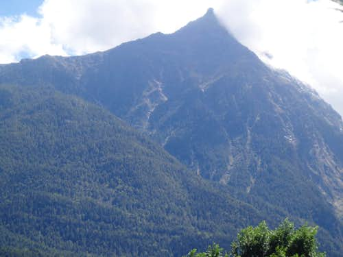 Tour de Salé Northern Face above Selva Plana 2015