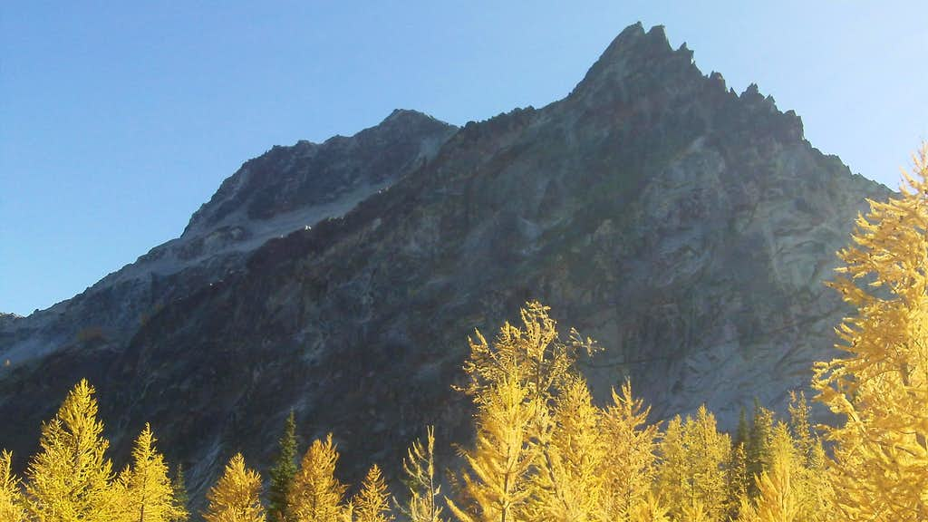 first peak at Star Peak