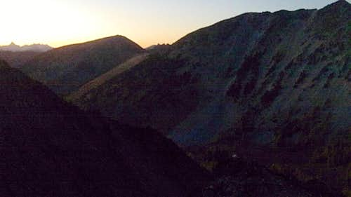 Fading light near Star Lake
