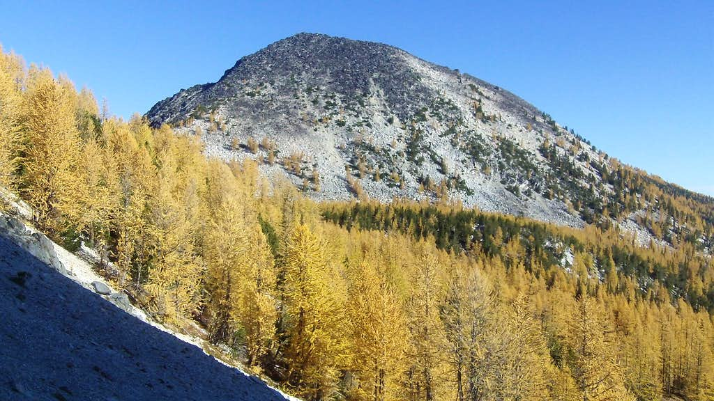 Oval from fish creek pass
