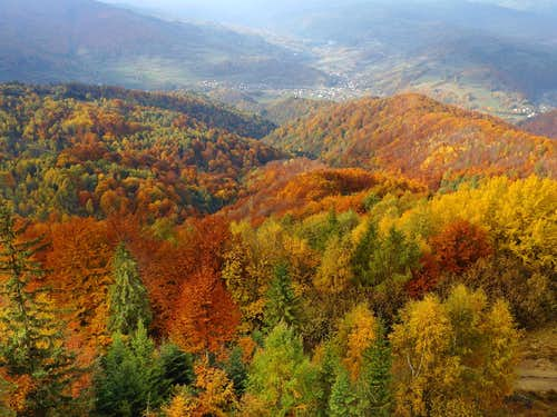 October 2015 - Dunajec valley