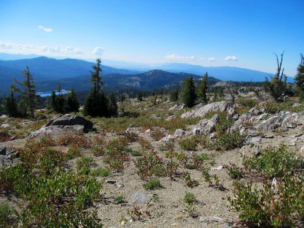 Cascade area from Granite