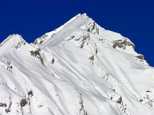 Monte la Varise <i>2941m</i><br> and Grande Rochère <i>3326m</i>