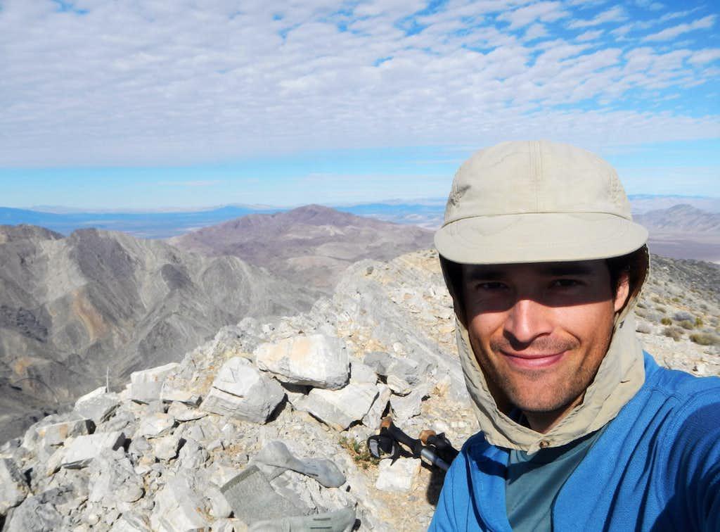 Stewart Point Selfie