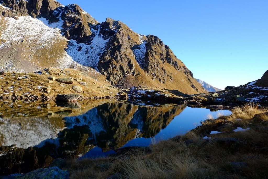 Pietra Quadra lake