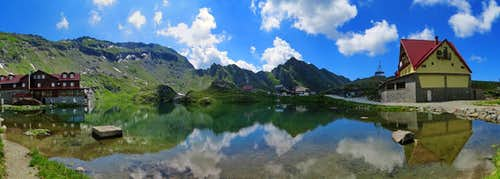 Lacul Balea and refuges