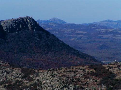 View from Mt Scott, OK....