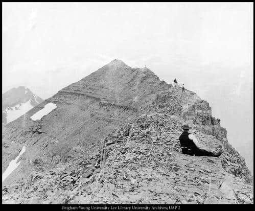 Near the top of timp in 1912