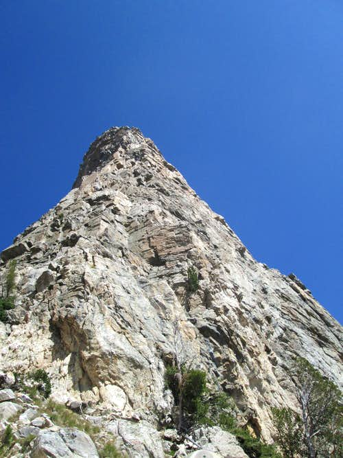 Southwest Ridge(YDS 5.7) of Symmetry Spire, Teton Range, WY