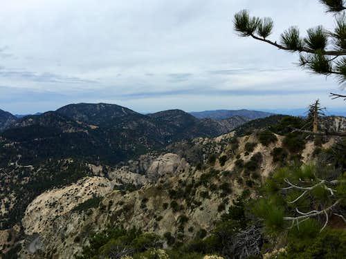 Waterman Mountain from Mt. Williamson