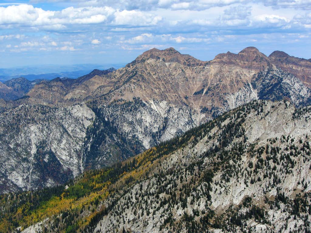 Twin Peaks from Lone Peak