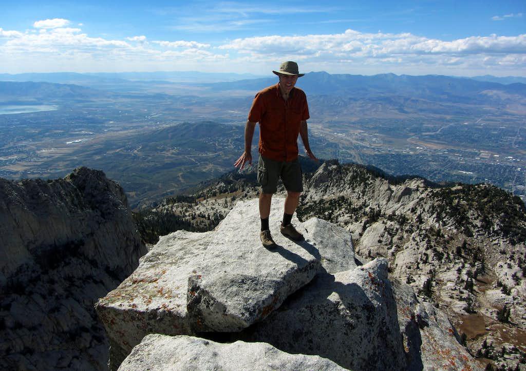 Bret on summit