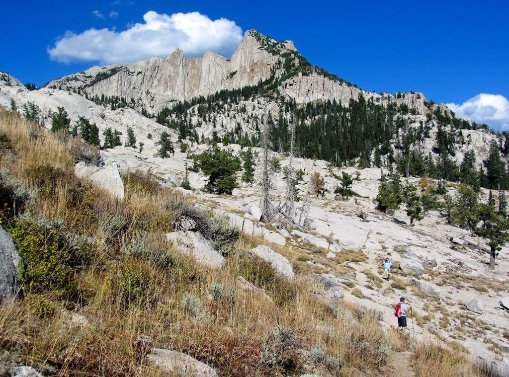 Lone Peak granite
