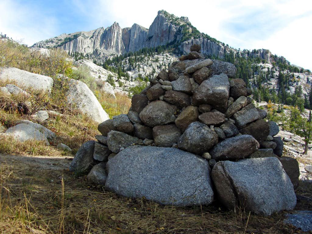 Giant cairn