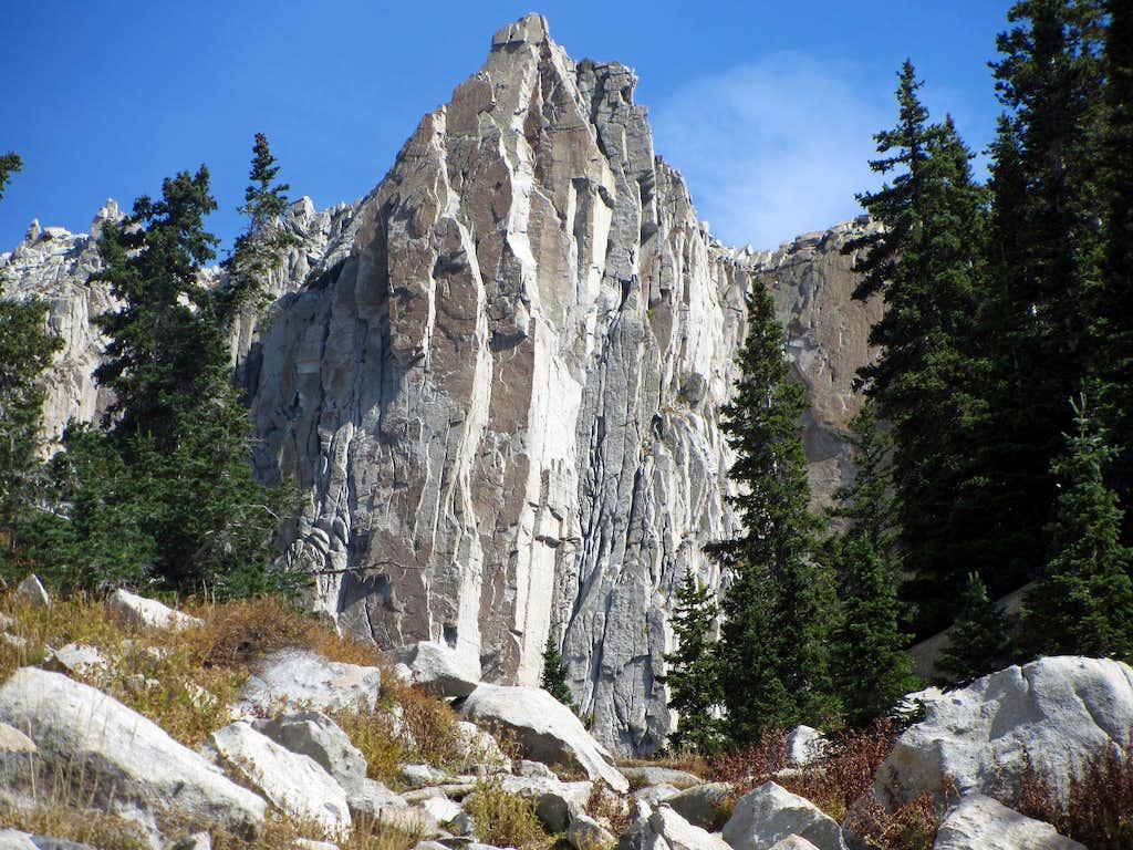 Lone Peak spire