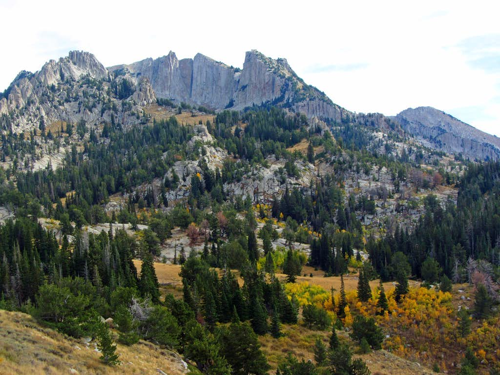 Lone Peak fall colors