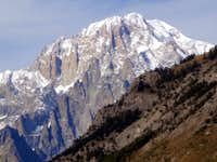 Mont Blanc ascending towards the San Carlo Hill 2015
