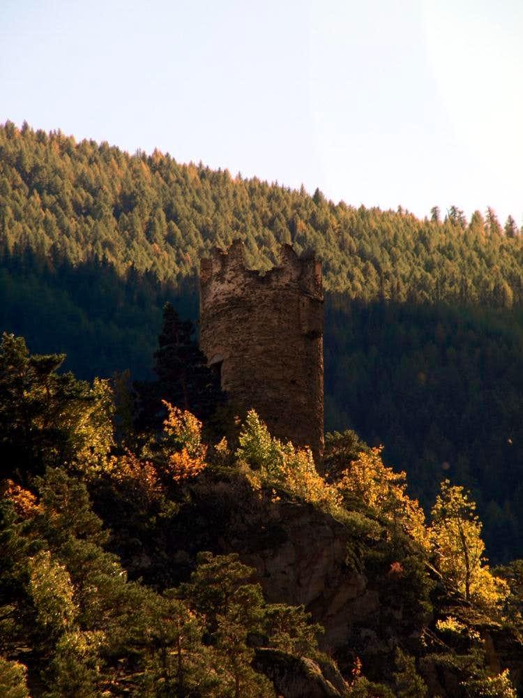 Montmayeur horrid Tower above Valgrisenche 2015