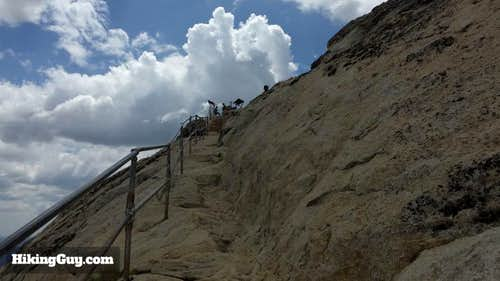 Stairs to the Summit of Stonewall Peak