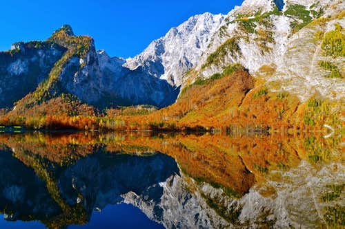 Autumn and reflections