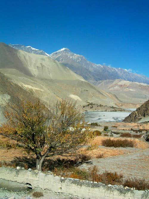 Kali Gandaki, Annapurna trail