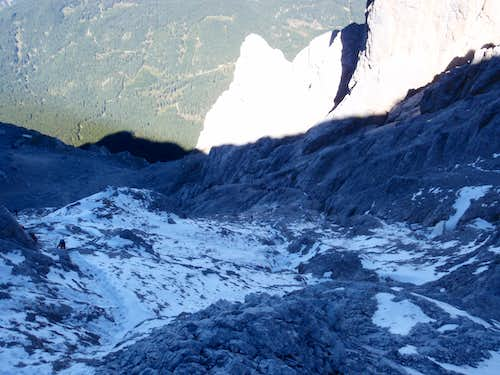 North-West Flank of Zugspitze