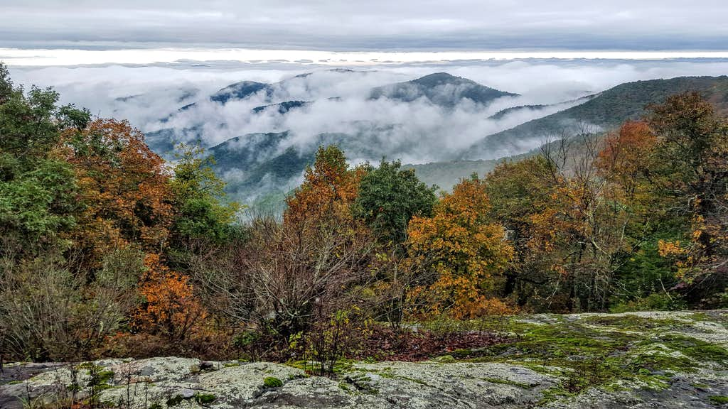 Big Cedar Mountain Northern Overlook
