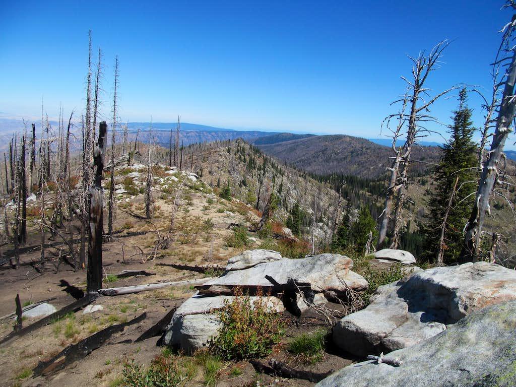 ridge & burns on SW Butte