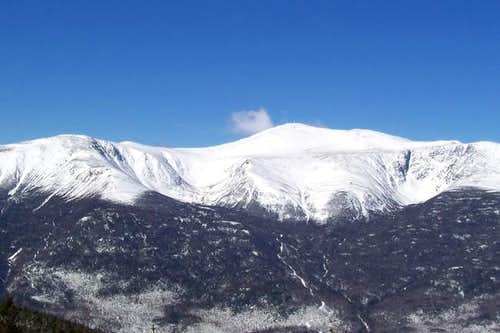 Mt. Washington on the last...